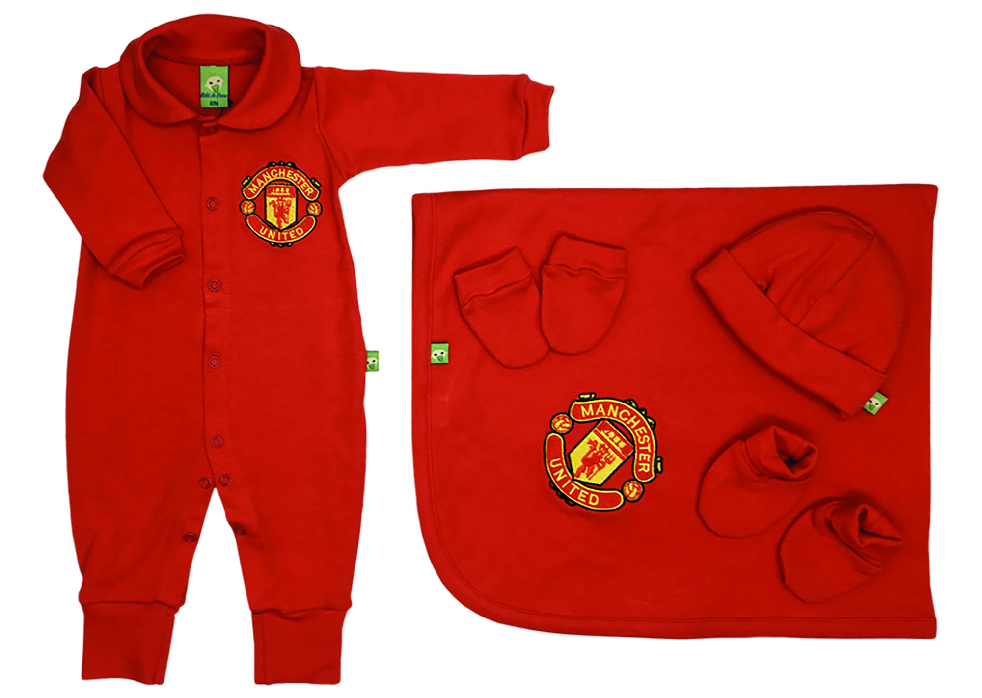 Saída de Maternidade Vermelha Futebol Manchester United