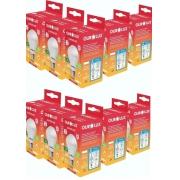 Kit 10 Lampadas LED 6W OuroLux Bivolt Branca 6500K