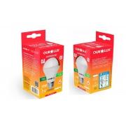 Kit 2 Lampadas LED 15W OuroLux Alta Potencia Bivolt Branca 6500K