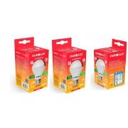 Kit 3 Lampadas LED 15W OuroLux Alta Potencia Bivolt Branca 6500K
