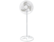 Ventilador De Coluna Premium 60 cm Aço Branco Cromado 170 W