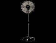 Ventilador De Coluna Premium 50 cm Bivolt Aço Preto170 W