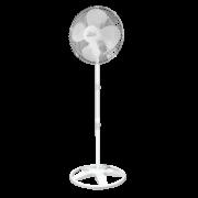 Ventilador De Coluna Premium 50 cm Aço Branco Cromado 170 W