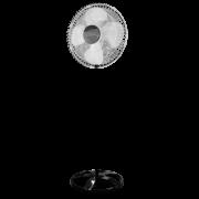 Ventilador De Coluna Premium 50 cm Aço Preto Cromado 170 W