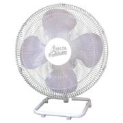 Ventilador De Mesa Premium 50 cm Aço Branco Cromado 170 W