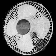 Ventilador de Parede Oscilante Premium 50 cm Cromo