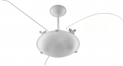 Ventilador de Teto Angra Com 3 Pás Br/Tr 220V