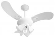 Ventilador de Teto Delta Fit 3 Pás Branco 220V+Controle Rem.