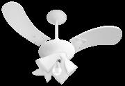 Ventilador de Teto Delta Fit 3 Pás de MDF Laqueadas