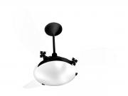 Ventilador de Teto Delta Slim 3 Pás Preto/Tr 220V