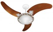 Ventilador de Teto Delta Ventus 3 Pás Br/Mg 220V+Controle R.