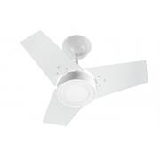 Ventilador de Teto FIT LED Venti-Delta Branco 110V+Controle