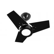 Ventilador de Teto FIT LED Venti-Delta Preto 220V+Controle