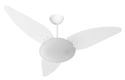 Ventilador De Teto Magnes 3 Pás De Mdf Branco 110V