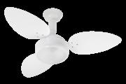 Ventilador De Teto Miray 3 Pás Branco 110V + Controle Remoto