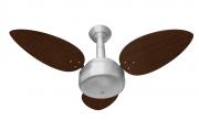 Ventilador De Teto Miray 3 Pás Pr/Tb 110V + Controle Remoto