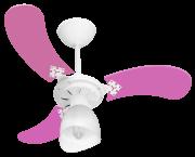 Ventilador de Teto New Baby Colors 3 Pás de MDF