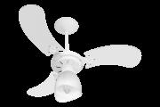 Ventilador De Teto New Baby Colors 3 Pás Mdf Branco 220V