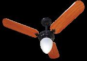 Ventilador de Teto New Delta L. GP Pr/Mg 110V+Controle Rem.