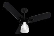 Ventilador de Teto New Delta Light Preto 110V+Controle R.