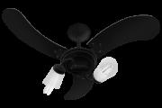 Ventilador de Teto New Spot Delta 3 Pás de MDF Laquedas