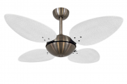 Ventilador de Teto Office Palmae Bronze/Br 220V+Controle R.