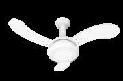 Ventilador de Teto One Led 3 Pás de MDF Laqueadas 130 W