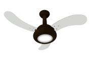 Ventilador de Teto One Led 3 Pás Mr/Br 110V + Controle Rem.