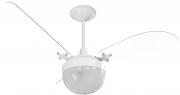 Ventilador de Teto Paraty 3 Pás Br/Tr 220V