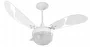 Ventilador de Teto Paraty 3 Pás Branco 110V+Controle Remoto