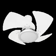 Ventilador de Teto Tornado LED 4 Pás Branco 220V