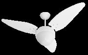 Ventilador de Teto Twister 3 Pás Branco 220V+Controle remoto