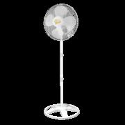 Ventilador De Coluna Gold 50 cm Bivolt Aço Branco Cromado 200 W