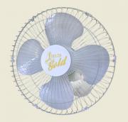 Ventilador De Parede Gold  50 cm Bivolt Aço Branco Cromado 200 W