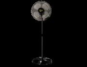 Ventilador De Coluna Gold 50 cm Bivolt Aço Preto200 W