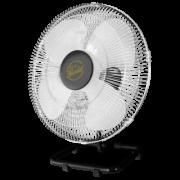 Ventilador De Mesa Gold 50 cm Bivolt Aço Preto Cromado 200 W