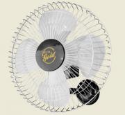 Ventilador De Parede Gold  50 cm Bivolt Aço Preto Cromado 200 W