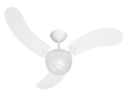 Ventilador Teto Montana Lustre Plástico  + Controle Rem