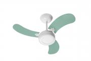 Ventilador Teto New Led Colors Branco 3 Pás Vde 110V 130 W