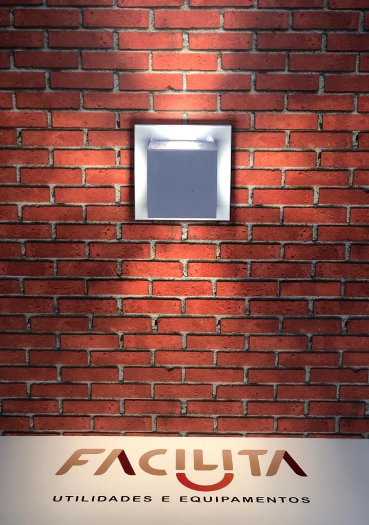 Arandela Ideal Flash Quadrada Branca 957 Com 4 Focos 1 69