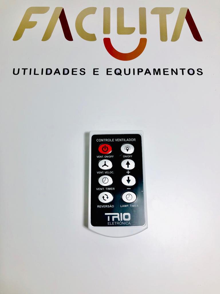 Controle Remoto Trio P Ventilador Teto Com Luz + Capacitor 4 uF