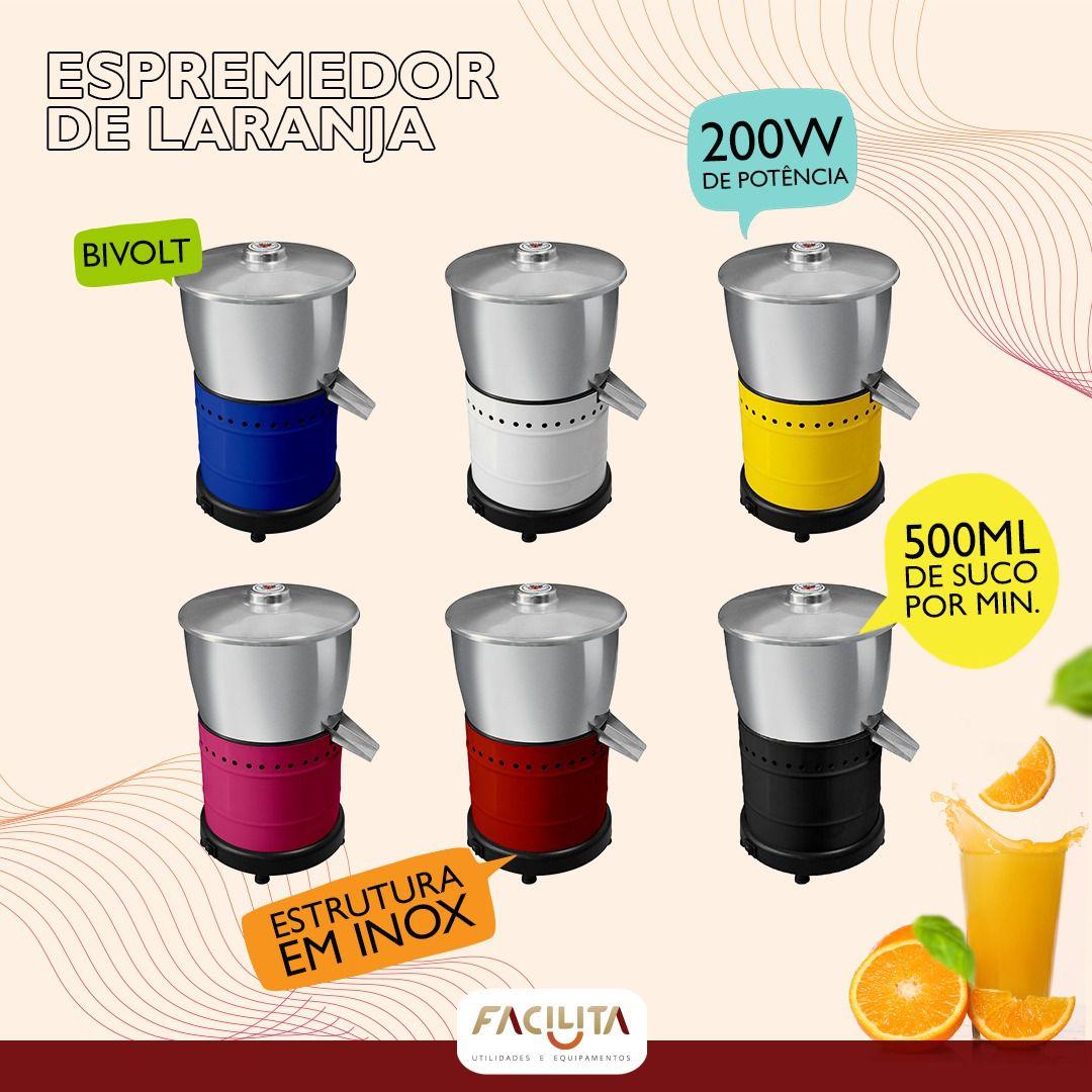 Espremedor de Frutas 200 W Venti Delta Bivolt Cromo