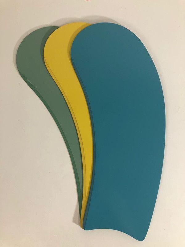 Jogo C/ 3 Pás Art Tricolor Masculina P/ Ventiladores de teto