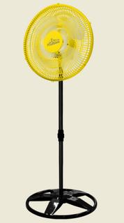 Ventilador de Coluna Osc. Plástico 50 cm Bivolt Amarelo