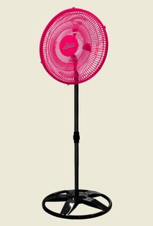 Ventilador de Coluna Osc. Plástico 50 cm Bivolt Rosa