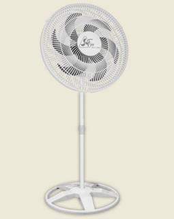 Ventilador De Coluna Delta Free 40 cm Bivolt Plástico Branco140 W