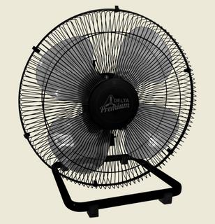 Ventilador De Mesa Premium 50 cm Bivolt Aço Preto 170 W