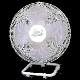 Ventilador de Mesa Oscilante Premium 50 cm Cromo