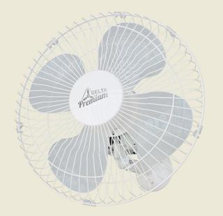 Ventilador De Parede Premium 50 cm Bivolt Aço Branco 170 W