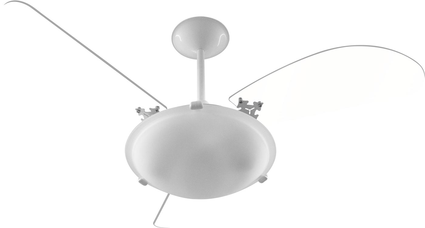Ventilador de Teto Angra Com 3 Pás Br/Tr 220V+Controle Rem.